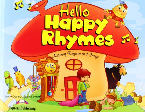 Hello Happy Rhymes Pupil's Book + CD