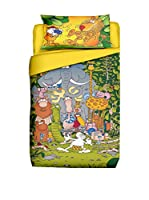 FUNNY BED by MANIFATTURE COTONIERE Juego De Funda Nórdica (Multicolor)