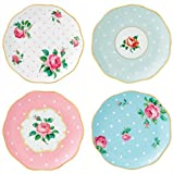 Vintage Tea Plates Set of 4