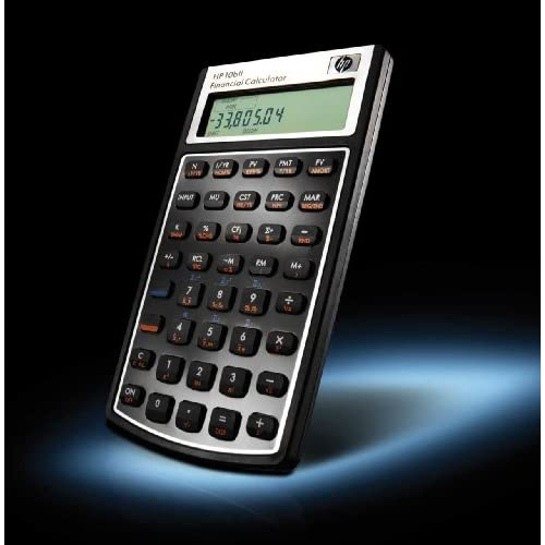 HP 10bII Financial Calculator