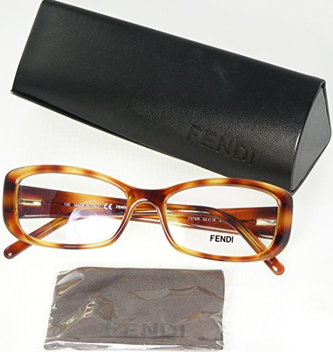 NEW FENDI F976R Eyeglasses Frame 218 Light Havana Women sunglasses glasses Italy