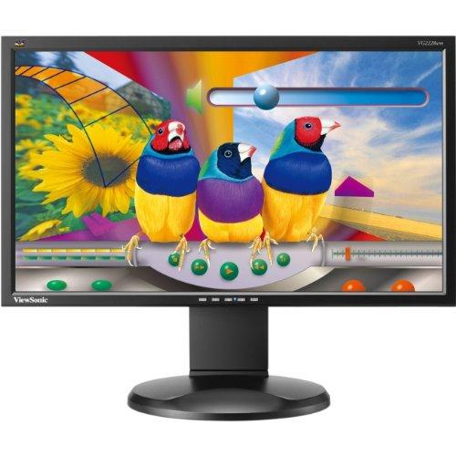 22in Ws Led Monitor 1920x1080 Dvi/Vga H/S/T Speakers 2usb