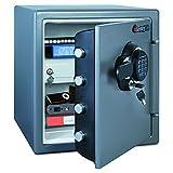 SentrySafe SFW123GDC 1.23 Cubic Feet Electronic Fire-Safe, Gun Metal Grey