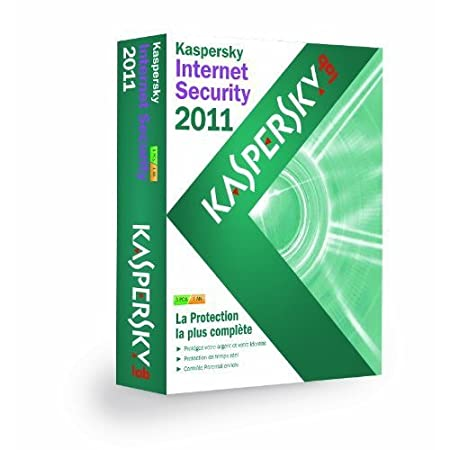 Kaspersky Internet Security 2011 - Mise à jour (3 postes / 1 an)
