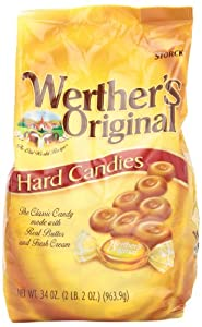 Werther's Original Hard, 34.0-Ounce Bags (Pack of 2)