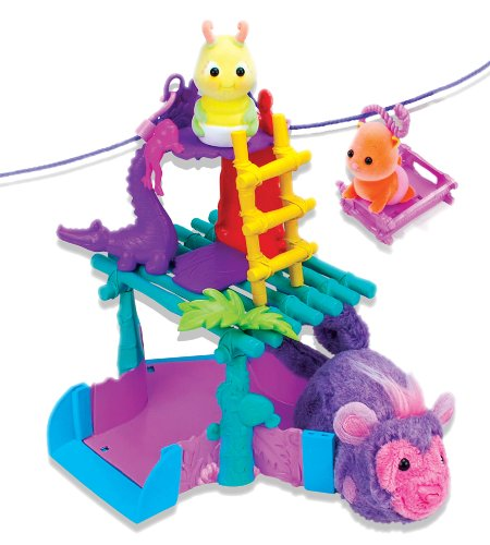51SbHJhbMQL Zhu Zhu Pets Zhu Fari Zippity Zip Line Playset