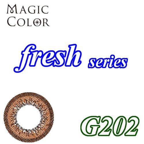 MAGICCOLOR (マジックカラー) fresh G202 度なし 14.0mm 1ヵ月使用 2枚入り