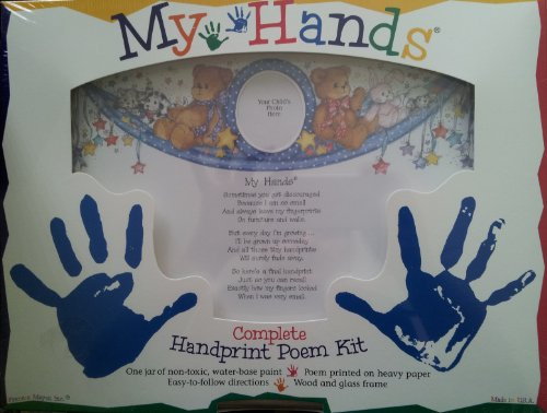 My Hands Complete Handprint Poem Kit