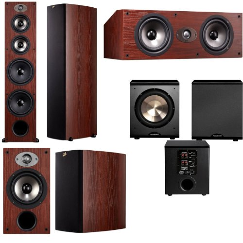Polk Audio Tsx550T 5.1 Home Theater System (Cherry)