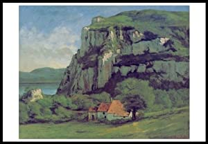 Rock of Hautepierre 1500 Piece Puzzle By Gustave Courbet - Masterpiece Series