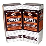 Trader Joe's Instant Coffee Packets with Creamer & Sugar 10 Packets, 4.2 Oz (Pack of 2)