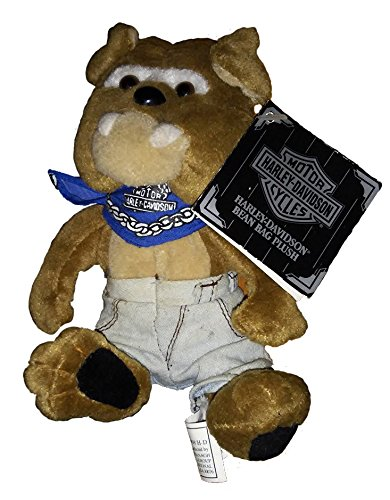 Harley Davidson Bean Bag Plush Spike the Bulldog - 1