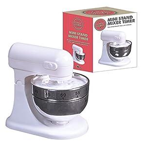 Global Gizmos Mini Stand Mixer 60 Minute Kitchen Timer