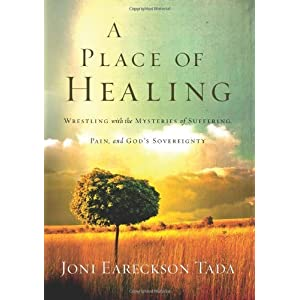 A Place of Healing: Wrestling with the Mysteries of Suffering, Pain, and God's Sovereignty [Hardcover]