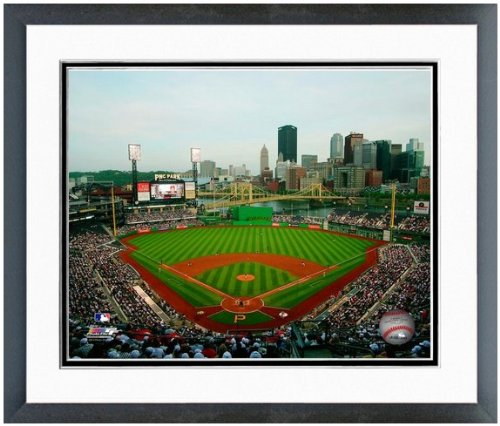 "Pittsburgh Pirates PNC Park MLB Stadium Photo 12.5"" x 15.5"" Framed"