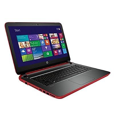 HP 14-v201tu 14-inch Laptop (Core i3-5005U/4GB/1TB/Win 8.1/Intel HD Graphcis 5500), Vibrant Red