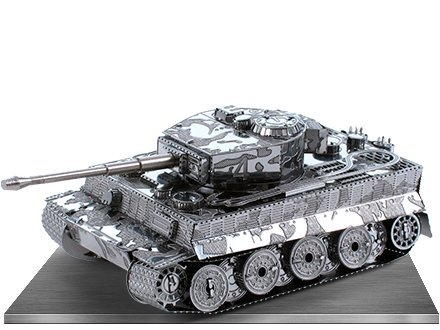 Tiger 1 Tank Metal Earth 3D Laser Cut Steel WWII Model