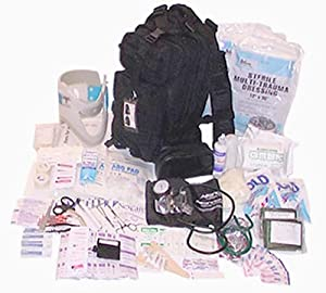 Elite First Aid - Tactical Trauma Kit #3 (Black) by Tactical Trauma Kit Red