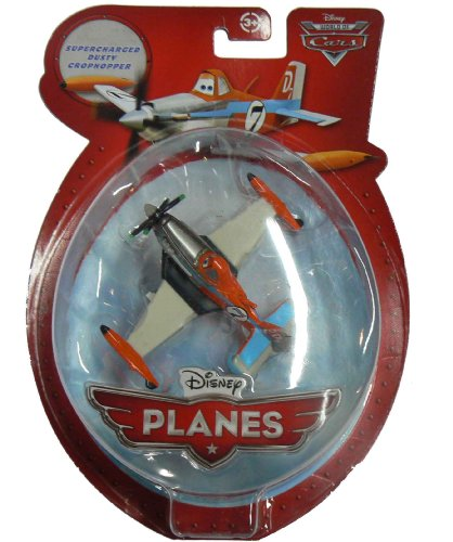 Disney Planes - Supercharged Dusty Crophopper Premium Die-Cast with Spinning Propellers - 1