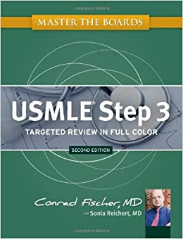 Master the Boards USMLE Step 3 by Conrad Fischer (2014, Paperback)