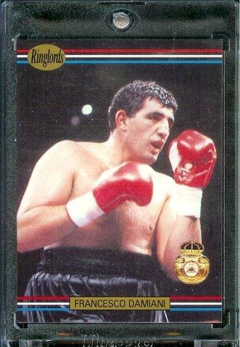 1991 RingLords Francesco Damiani Boxing Card