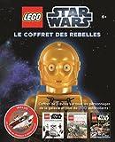 Lego Star Wars, le coffret des Rebelles : Avec 1 encyclopédie illustrée, 2 albums autocollants et un modèle de chasseur A-Wing exclusif