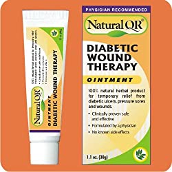 NaturalQR® Diabetic Wound Therapy Ointment, 1.1oz Tube