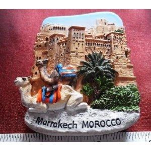 Morocco Camels Magnets Souvenirs Thailand Vintage HandMade Design