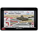 "BECKER Professional 50 LMU Sat Nav, 12.7 cm (5"") Display, Europe Maps (44 Countries), Lifetime Map Updates, SituationScan, OneShot Speech Dialogue System, Bluetooth, Black/Silver-Metallic (discountinued by manufacturer)"