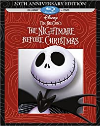 Tim Burton\'s The Nightmare Before Christmas - 20th Anniversary Edition (Blu-ray / DVD Combo Pack)