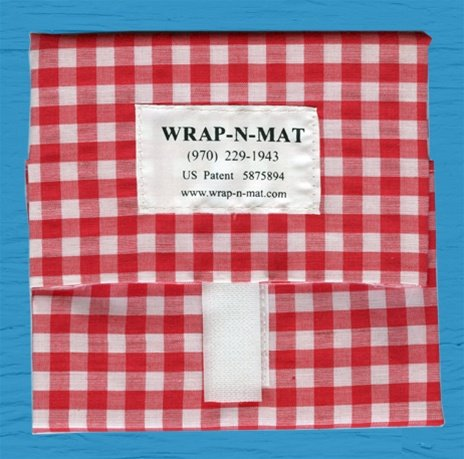 Image of Wrap-N-Mat - Red