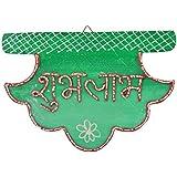 999Store Shubh Labh Diwali Door Hanging Multicolour Wooden Handmade