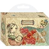 Santoro Mirabelle Fabric Flowers 18pk
