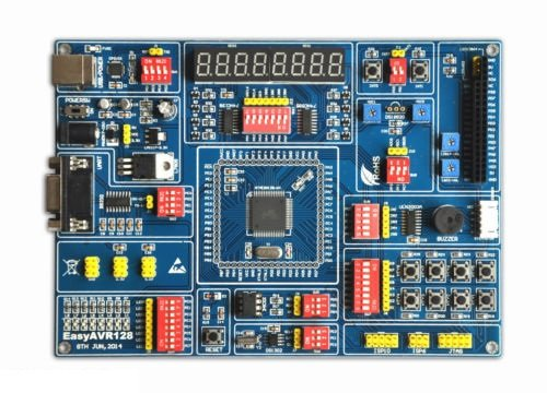 New Development Board Kit for ATMEL AVR ATMEGA128 Mega128 (Atmel Development Board compare prices)