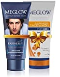 Meglow Premium Fairness Cream & Face Wash Combo