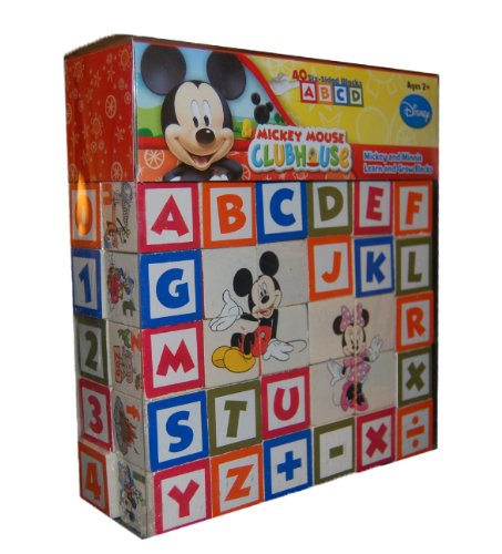 Mickey Mouse Clubhouse Mickey y Minnie Aprender y Crecer Blocks