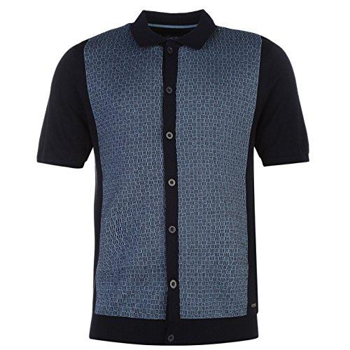Pierre Cardin pulsante anteriore Polo da uomo Navy/Blu Top T-Shirt Tee, navy/Blue, M