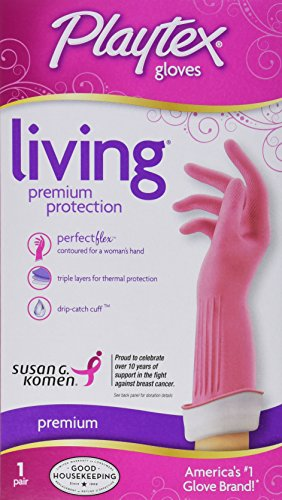 Playtex Living Gloves, Large , 1pair (Rubber Gloves For Dishwashing compare prices)