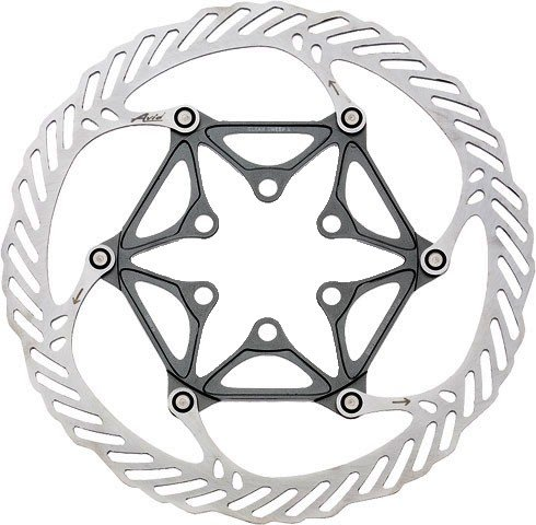 Buy Low Price Avid CleanSweep X Disc Rotor, Gray with Ti Bolts, 185m (00.5015.989.030)