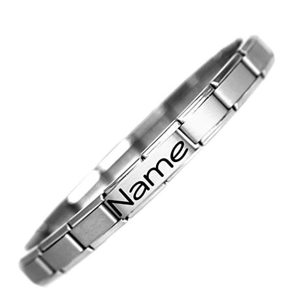 JSC Jewellery Tony Name Nomination Style Stainless Steel Charm