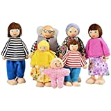 Arshiner Happy Doll Family of 6 People