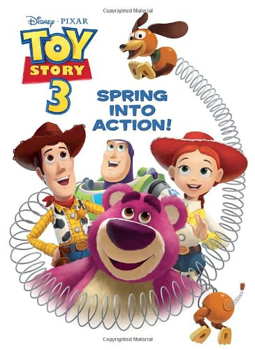 Spring Into Action! (Disney/Pixar Toy Story 3) (Deluxe Coloring Book)