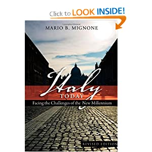 Italy Today (Studies in Modern European History) Mario B. Mignone