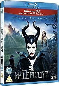 Maleficent (3D & 2D) [ Blu-Ray, Reg.A/B/C Import - United Kingdom ] by Disney