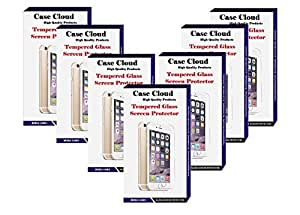 [Pack of 7] Case Cloud High Quality Screen Protector Tempered Glass for Sony Xperia L