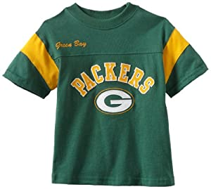 NFL Green Bay Packers 4-7 Youth Short Sleeve Block T-Shirt