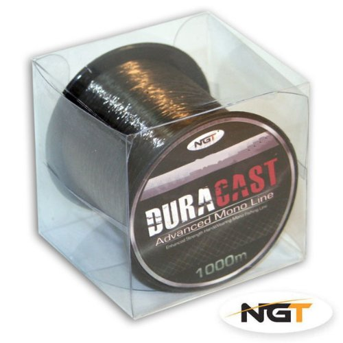 4lb Brown 'Duracast' Bulk Fishing Line - 1000M Spool