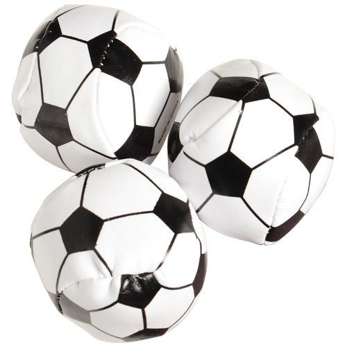 "USToy Soccer Balls Party Favors -Assorted Colors,Size 1 3/4"" Approx,Lot of 12 - 1"