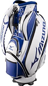 Mizuno Golf Japan Cart Caddy Bag 2011 Tour Style (White Blue) JAPAN by Mizuno