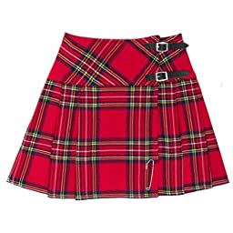 Royal Stewart 16.5 inch Mini Kilt Skirt - US Size 10
